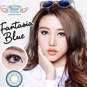 COLORED CONTACTS FANTASIA BLUE - Lens Beauty Queen