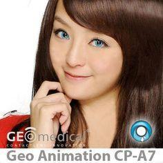 COLORED CONTACTS GEO ANIME CPA7 - Lens Beauty Queen