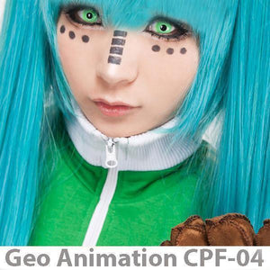 COLORED CONTACTS GEO ANIME CPF4 - Lens Beauty Queen