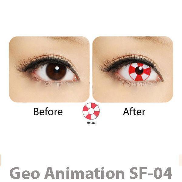 COLORED CONTACTS GEO ANIME SF04 - Lens Beauty Queen