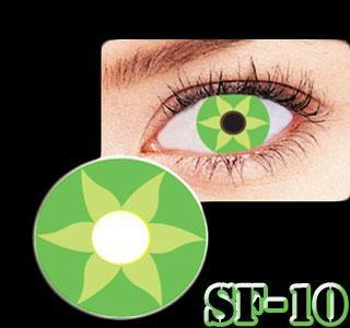 COLORED CONTACTS GEO ANIME SF10 - Lens Beauty Queen