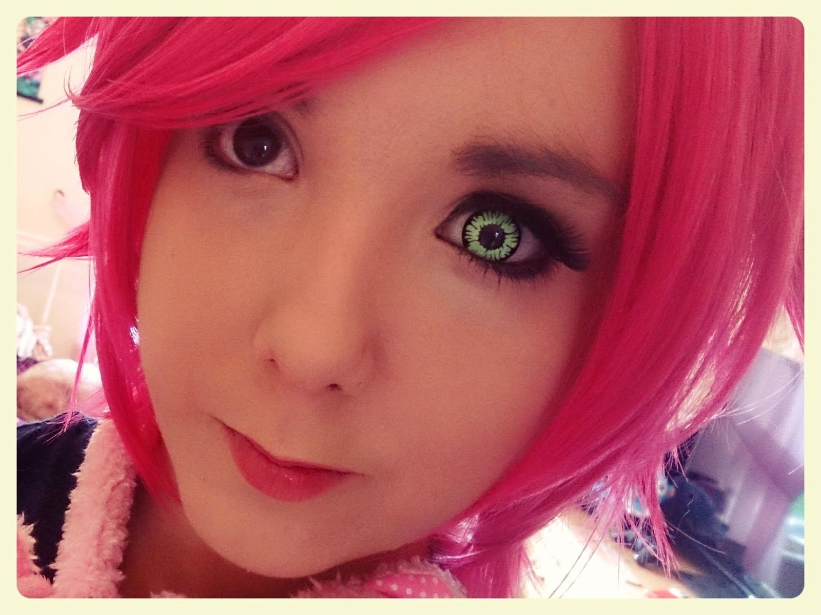 COLORED CONTACTS GEO ANIME SF17 - Lens Beauty Queen