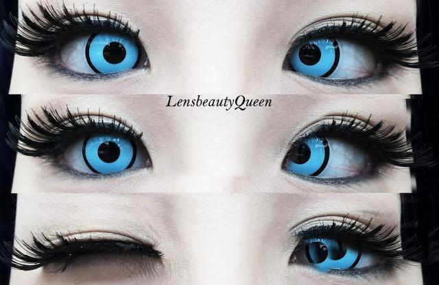 COLORED CONTACTS GEO ANIME SF34 - Lens Beauty Queen