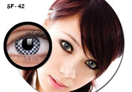 COLORED CONTACTS GEO ANIME SF42 - Lens Beauty Queen