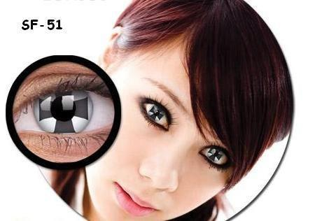 COLORED CONTACTS GEO ANIME SF51 - Lens Beauty Queen