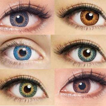 COLORED CONTACTS GEO TWINS ANIME YH302 - Lens Beauty Queen