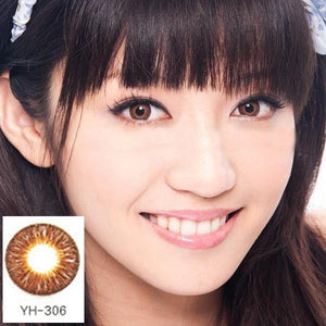 COLORED CONTACTS GEO TWINS ANIME YH306 - Lens Beauty Queen