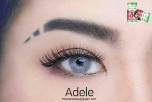 COLORED CONTACTS PRETTY ADELE GRAY - Lens Beauty Queen