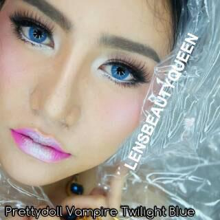COLORED CONTACTS PRETTY DOLL VAMPIRE BLUE - Lens Beauty Queen