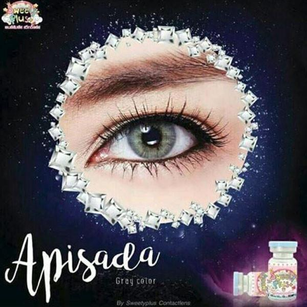 COLORED CONTACTS SWEETY APISADA GRAY - Lens Beauty Queen