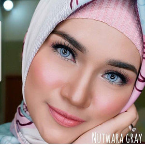 COLORED CONTACTS SWEETY NUTWARA GRAY - Lens Beauty Queen