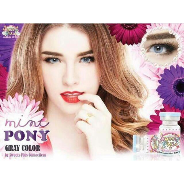 COLORED CONTACTS SWEETY PONY GRAY - Lens Beauty Queen