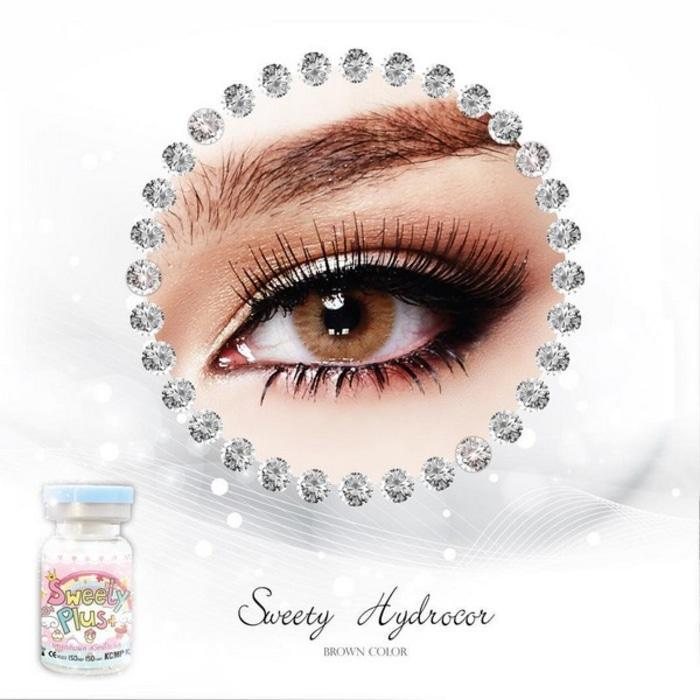 COLORED CONTACTS SWEETY SOLOTICA BROWN - Lens Beauty Queen