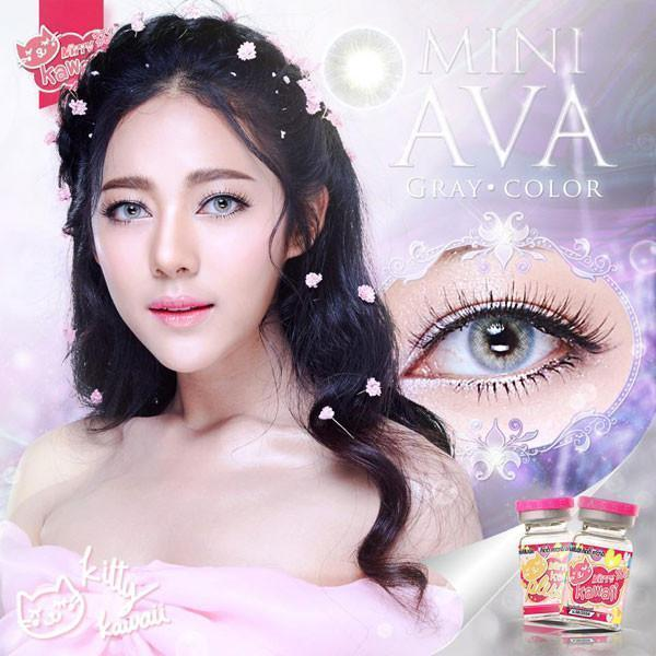 COLORED CONTACTS KITTY MINI AVA GRAY - Lens Beauty Queen