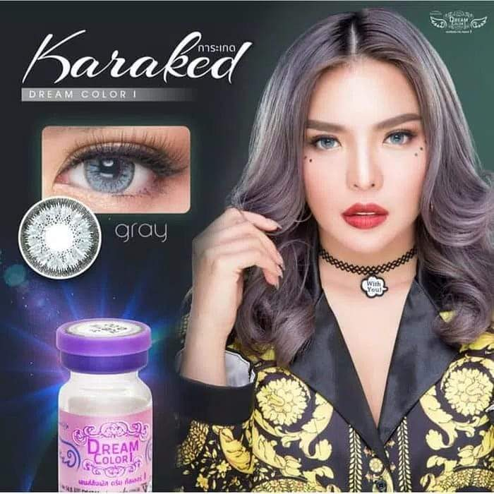 COLORED CONTACTS DREAM COLOR KARAKED GRAY - Lens Beauty Queen