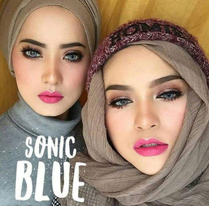 COLORED CONTACTS DREAM COLOR SONIC BLUE - Lens Beauty Queen