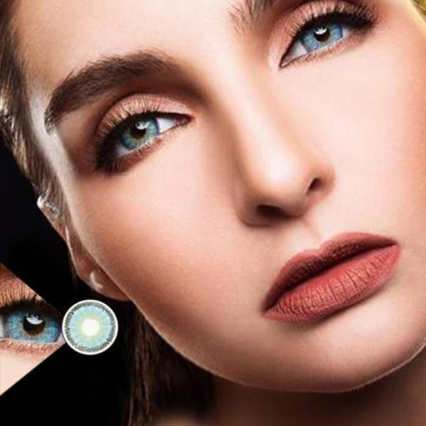 COLORED CONTACTS DREAM COLOR TERESA BLUE - Lens Beauty Queen