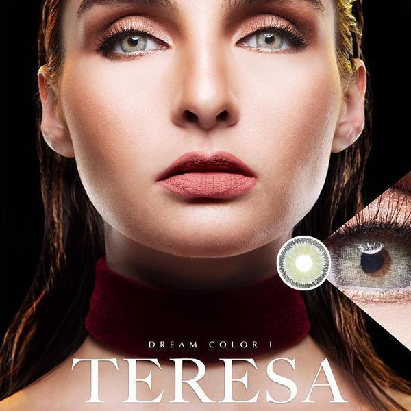 COLORED CONTACTS DREAM COLOR TERESA GRAY - Lens Beauty Queen
