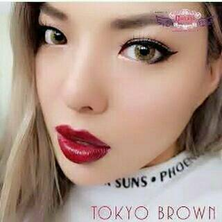 COLORED CONTACTS DREAM COLOR TOKYO BROWN - Lens Beauty Queen