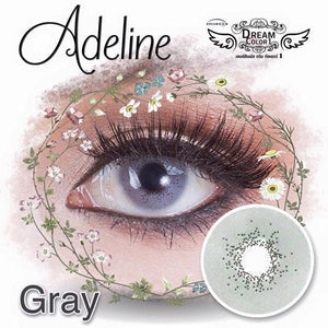 COLORED CONTACTS DREAM COLOR ADELINE GRAY - Lens Beauty Queen