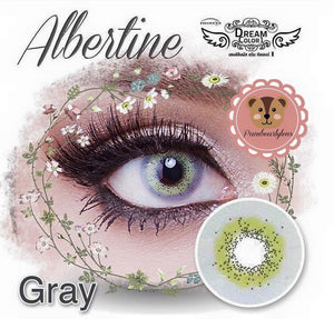 COLORED CONTACTS DREAM COLOR ALBERTINE GRAY - Lens Beauty Queen