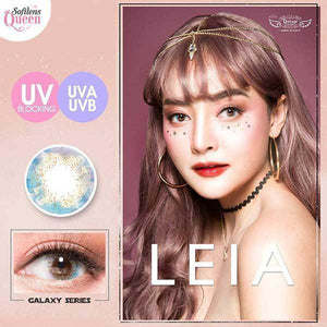 COLORED CONTACTS DREAM COLOR GALAXY LEIA - Lens Beauty Queen