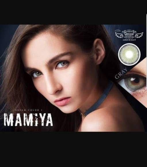 COLORED CONTACTS DREAM COLOR MAMIYA GRAY - Lens Beauty Queen