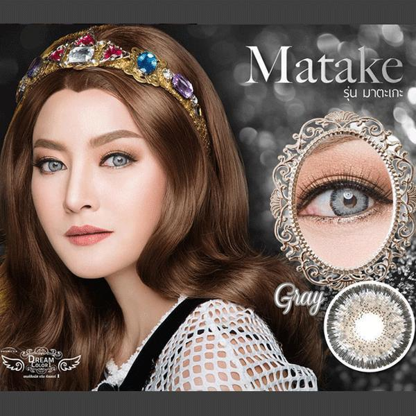 COLORED CONTACTS DREAM COLOR MATAKE GRAY - Lens Beauty Queen