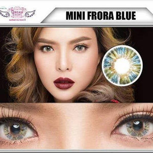 COLORED CONTACTS DREAM COLOR MINI FRORA BLUE - Lens Beauty Queen