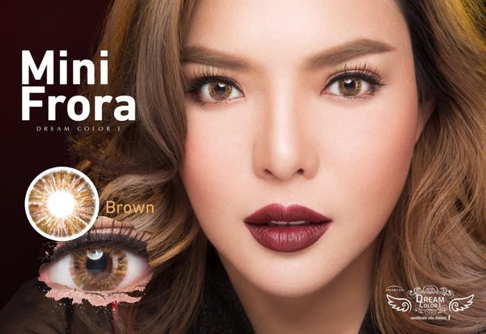 COLORED CONTACTS DREAM COLOR MINI FRORA BROWN - Lens Beauty Queen