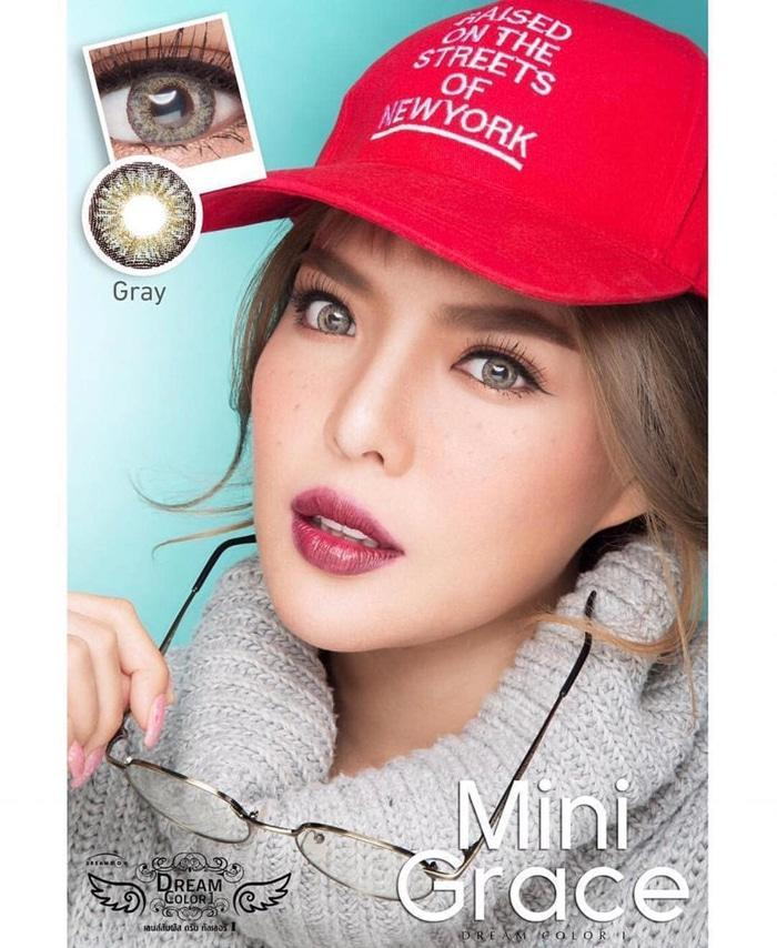 COLORED CONTACTS DREAM COLOR MINI GRACE GRAY - Lens Beauty Queen