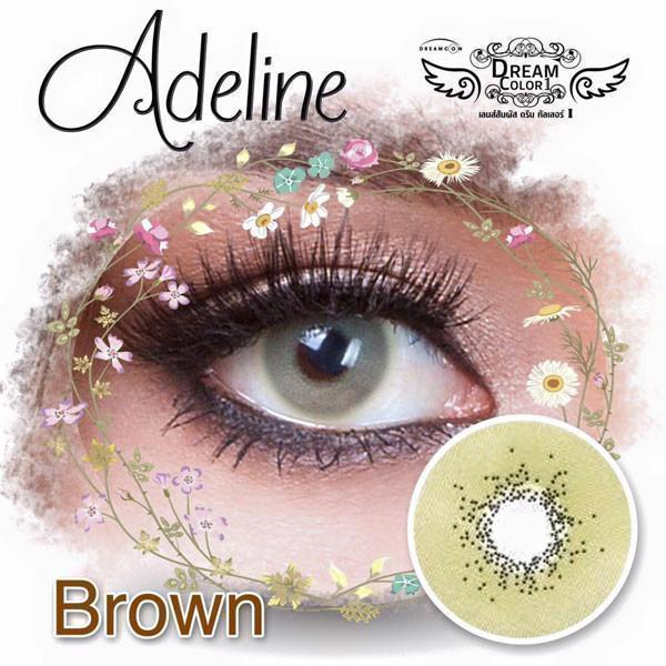 COLORED CONTACTS DREAM COLOR ADELINE BROWN - Lens Beauty Queen