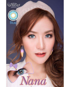 COLORED CONTACTS DREAM COLOR NANA BLUE - Lens Beauty Queen