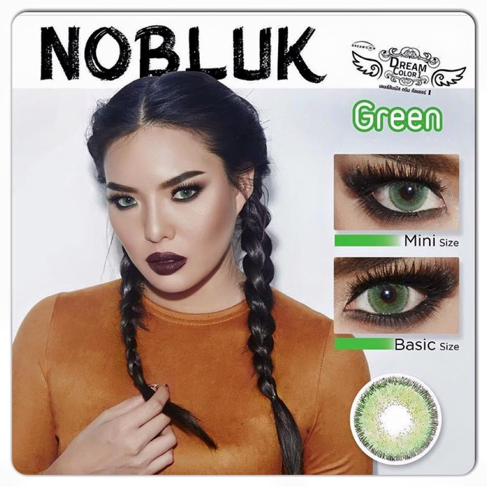 COLORED CONTACTS DREAM COLOR NO BLUK GREEN - Lens Beauty Queen