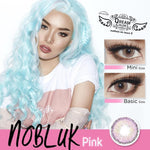 COLORED CONTACTS DREAM COLOR NO BLUK PINK - Lens Beauty Queen