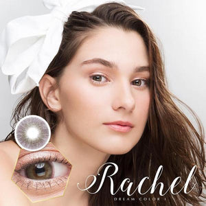 COLORED CONTACTS DREAM COLOR RACHEL BROWN - Lens Beauty Queen
