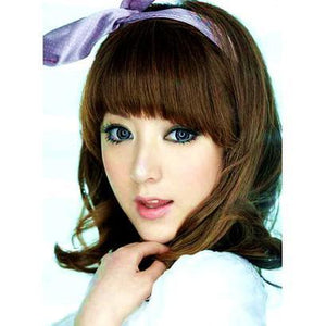 GRAY CONTACTS - COLORED CONTACTS GEO SUPER ANGEL GRAY - Lens Beauty Queen