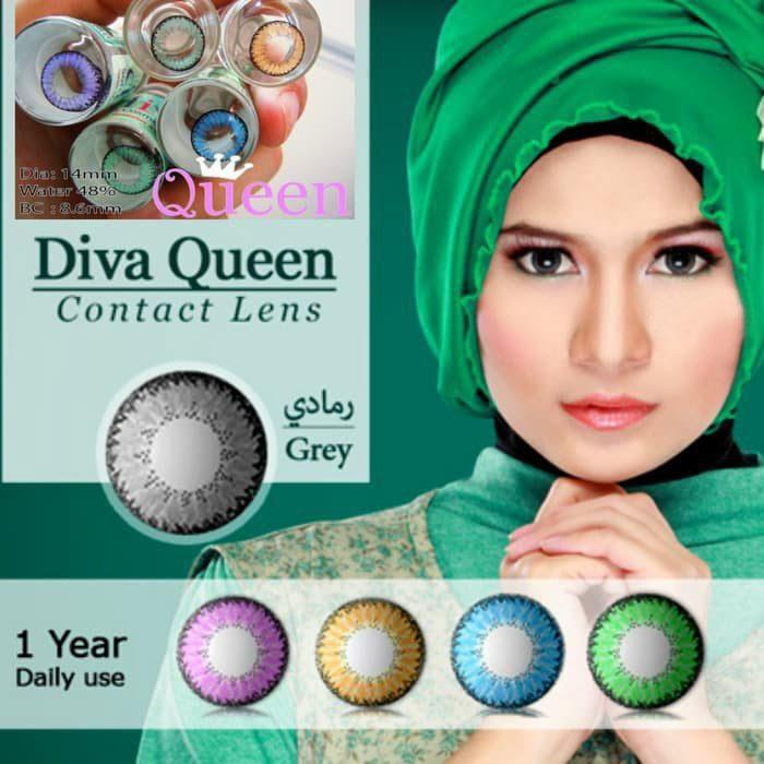 GREY CONTACTS - DIVA QUEEN GRAY - Lens Beauty Queen