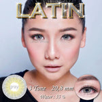 COLORED CONTACTS LATIN GRAY - Lens Beauty Queen