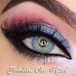 COLORED CONTACTS SOLOTICAONE AZUL BLUE - Lens Beauty Queen