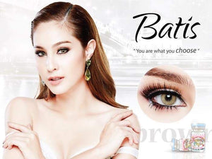 COLORED CONTACTS SWEETY BATIS BROWN - Lens Beauty Queen