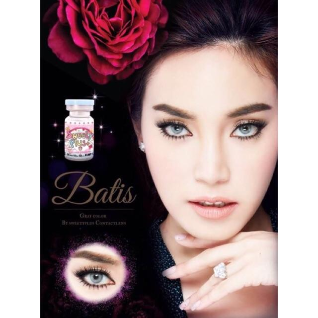 COLORED CONTACTS SWEETY BATIS GRAY - Lens Beauty Queen