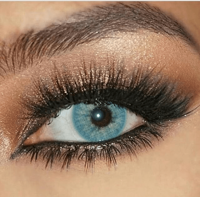 COLORED CONTACTS SWEETY PITCHY BLUE - Lens Beauty Queen