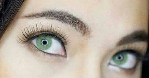 COLORED CONTACTS SWEETY PITCHY GREEN - Lens Beauty Queen