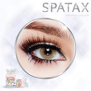 COLORED CONTACTS SWEETY SPATAX BROWN - Lens Beauty Queen