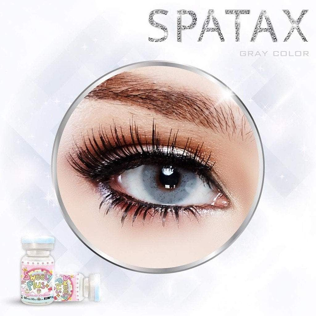COLORED CONTACTS SWEETY SPATAX GRAY - Lens Beauty Queen