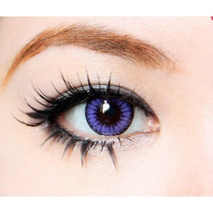 VIOLET CONTACTS - DIVA QUEEN VIOLET - Lens Beauty Queen