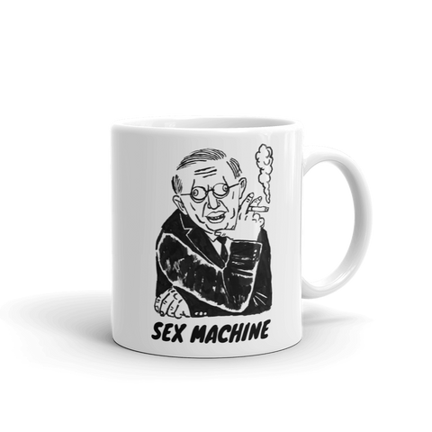 Sex Machine Mug Right Handed