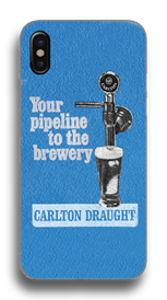 Carlton Draught Pipeline Phone Case