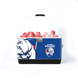Carlton Draught x Western Bulldogs AFL Cooler